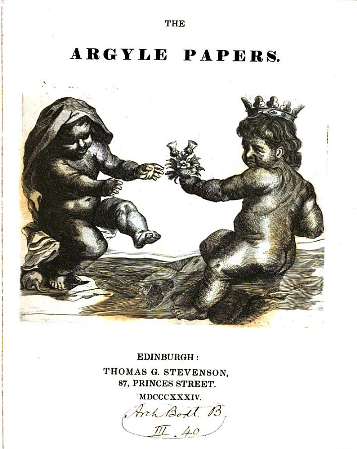The Argyle Papers