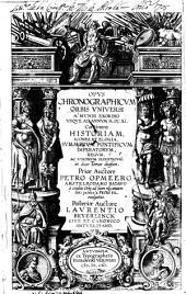 Opus chronographicum orbis vniversi a mundi exordio vsque ad annum M.DC.XI.