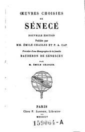 Oeuvres choisies de Sénecé