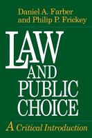 Law and Public Choice PDF