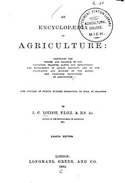 An Encyclop  dia of Agriculture PDF
