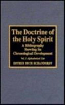 The Doctrine of the Holy Spirit PDF