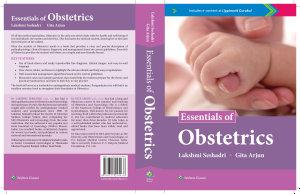 Essentials of Obstetrics PDF