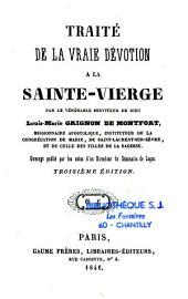 Traité de la vraie dévotion à la sainte-vierge