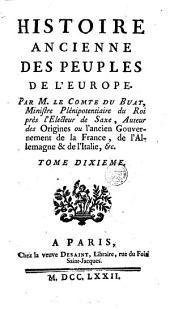 Histoire ancienne des peuples de l'Europe: Volume10