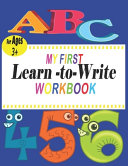 My First Learn to Write Workbook PDF