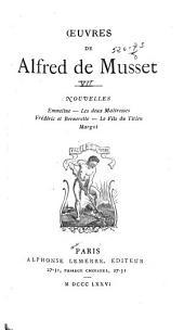 OEuvres de Alfred de Musset ...: Nouvelles