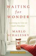 Waiting for Wonder Leader Guide Book
