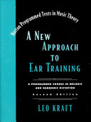 New Approach to Ear Training Book