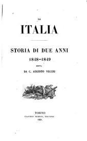 La Italia: storia di due anni, 1848-1849
