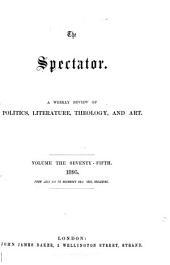 The Spectator: Volume 75