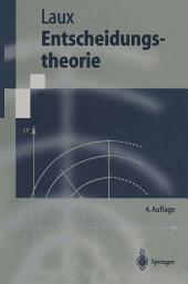 Entscheidungstheorie: Ausgabe 4