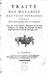 Traité des maladies des voies urinaires: Volume2