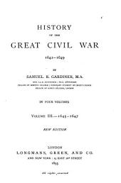 History of the Great Civil War, 1642-1649: Volume 3
