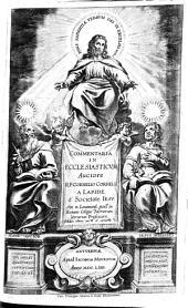 Commentaria in ecclesiaticum