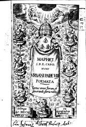 Barberini nunc Urbani papae VIII. Poemata