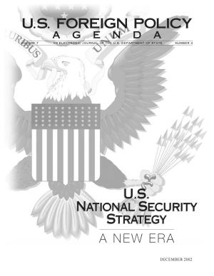 U s  National Security Strategy  a New Era PDF