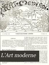 L'Art moderne: Volume28