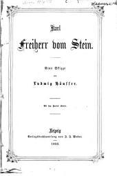 Karl Freiherr von Stein: Eine Skizze