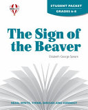 Sign of the Beaver Student Packet Book