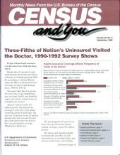 Census and you: monthly news from the U.S. Bureau of the Census, Volume 30, Issue 9