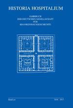 Geschichte der Pflege im Krankenhaus