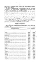 Brief Description of the Public Lands of the United States of America
