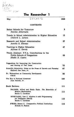 The Researcher PDF