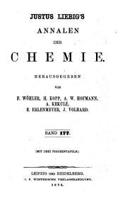 Justus Liebig's Annalen der Chemie: Band 177