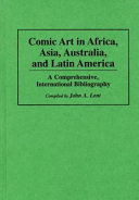Comic Art in Africa  Asia  Australia  and Latin America PDF
