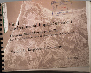 Presidio Trust Implementation Plan  Presidio of San Francisco  San Francisco Book