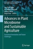 Advances in Plant Microbiome and Sustainable Agriculture PDF