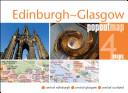 Edinburgh & Glasgow Popout Map