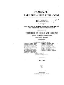 Lake Erie   Ohio River Canal PDF