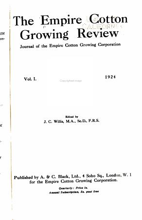 Empire Cotton Growing Review PDF
