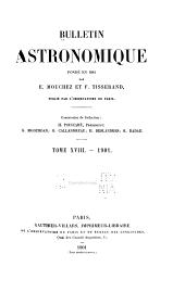 Bulletin astronomique: Volume 18