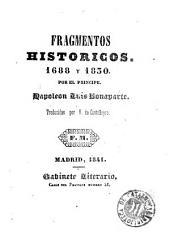 Fragmentos historicos 1688 y 1830