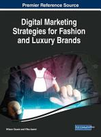 Digital Marketing Strategies for Fashion and Luxury Brands PDF