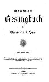 Evangelisches Gesangbuch für Gemeinde und Haus