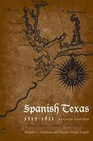 Spanish Texas  1519   1821 PDF