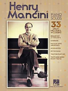 Henry Mancini Piano Solos Book