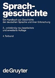Sprachgeschichte  4  Teilband PDF