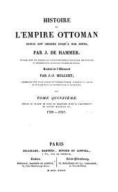 Histoire de l'Empire ottoman, depuis son origine jusqu'à nos jours: Volume15