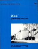 China, Grain Storage Structures