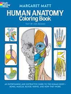 Human Anatomy Coloring Book Book