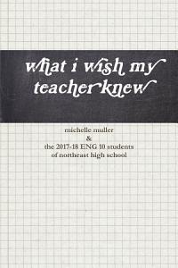what i wish my teacher knew PDF
