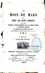 Le mois de mars ou mois de saint Joseph