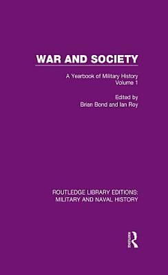 War and Society Volume 1 PDF