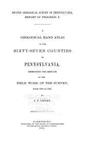 Report of Progress 1874-1889,A-Z.