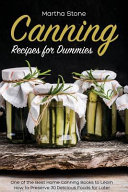 Canning Recipes for Dummies PDF